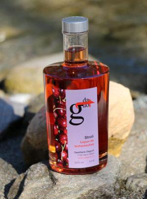 Stroli / Liquor da tschereschas / Kirschen-Likör